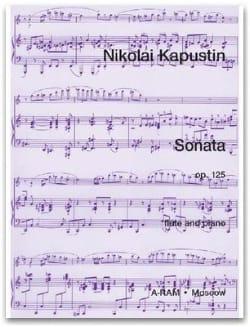 Nikolai Kapustin - Sonate Opus 125 - Partition - di-arezzo.fr