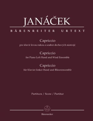Leos Janacek - caprice - Sheet Music - di-arezzo.co.uk