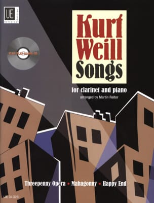 Kurt Weill - Kurt Weill Songs For Clarinet - Partition - di-arezzo.fr