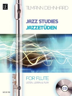 Tilmann Dehnhard - Jazz Studies For Flute - Sheet Music - di-arezzo.com