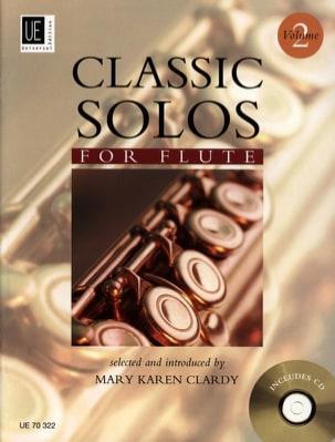 Classic Solos For Flute Vol.2 - Mary Karen Clardy - laflutedepan.com