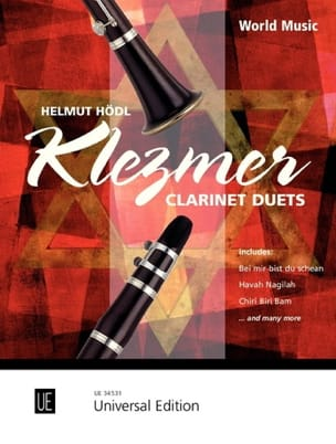 Helmut Hödl - Klezmer Clarinet Duets - Sheet Music - di-arezzo.co.uk