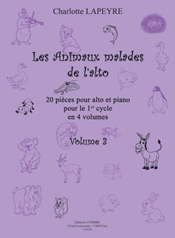 Charlotte Lapeyre - The Sick Animals of Viola Vol.3 - Sheet Music - di-arezzo.com