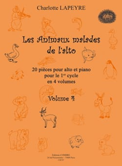Charlotte Lapeyre - The Malicious Animals of Viola Vol.4 - Partitura - di-arezzo.it