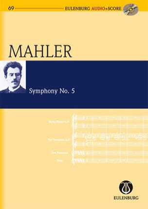 Gustav Mahler - Symphony N°5 - Partition - di-arezzo.fr