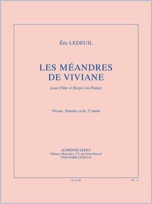 Eric Ledeuil - Les Méandres de Viviane - Partition - di-arezzo.fr