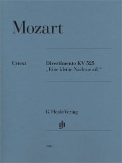 MOZART - Divertimento A Little Night Music K. 525 - Partitura - di-arezzo.es