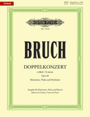 Max Bruch - Double Concerto Opus 88 In E Minor - Sheet Music - di-arezzo.co.uk