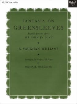 Williams Ralph Vaughan - Fantasia On Greensleeves - Partition - di-arezzo.fr