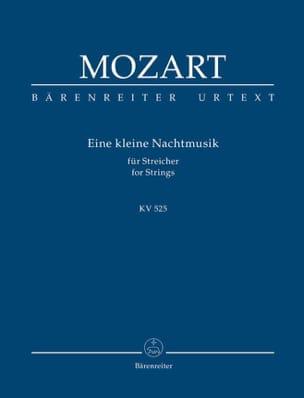 MOZART - Eine kleine Nachtmusik KV 525 - Partitur - Partition - di-arezzo.fr
