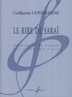 Guillaume Connesson - Sarai's laughter - Sheet Music - di-arezzo.co.uk