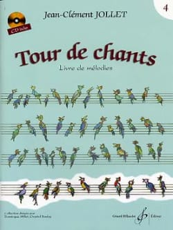 Tour de Chants Volume 4 - Jean-Clément Jollet Partition laflutedepan