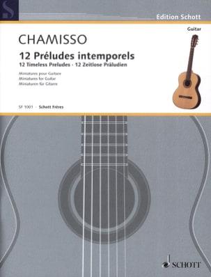 Olivier Mayran De Chamisso - 12 Préludes Intemporels - Partition - di-arezzo.fr