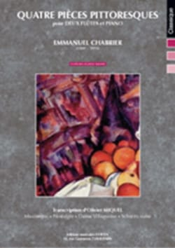 Emmanuel Chabrier - Four Picturesque Rooms - Sheet Music - di-arezzo.com