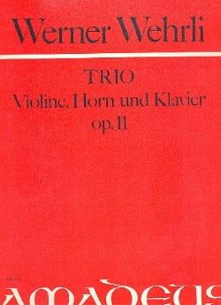 Werner Wehrli - Threesome Op. 11 Für Horn, Violine Und Klavier - Sheet Music - di-arezzo.com