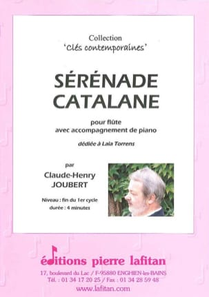 Claude-Henry Joubert - Catalan serenade - Sheet Music - di-arezzo.co.uk