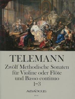 12 Methodische Sonaten Für Flöte Und Bc Band 1 - laflutedepan.com