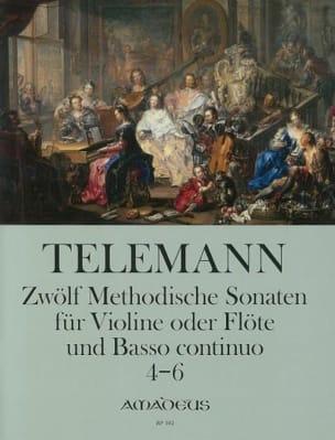 Georg Philipp Telemann - 12 Methodische Sonaten Für Flöte Und Bc Band 2 - Partition - di-arezzo.fr