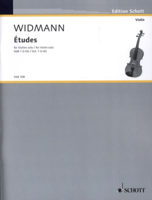 Joerg Widmann - Etudes Volume 1 - (1-3) - Partition - di-arezzo.fr