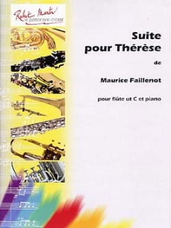 Maurice Faillenot - Suite For Therese - Sheet Music - di-arezzo.co.uk