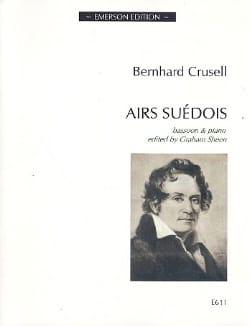 Bernhard Henrik Crusell - Airs Suédois - Partition - di-arezzo.fr