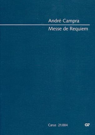 André Campra - Messe de Requiem (1695) - Partition - di-arezzo.fr