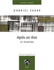 Après un Rêve - Gabriel Fauré - Partition - Guitare - laflutedepan.com