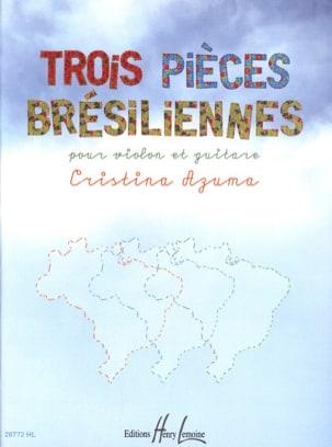 3 Pièces Brésiliennes - Cristina Azuma - Partition - laflutedepan.com
