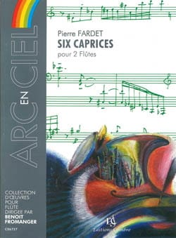 Pierre Fardet - 6 Caprices - Partition - di-arezzo.fr