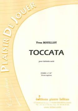 Toccata Pour Clarinette Seule Yves Bouillot Partition laflutedepan
