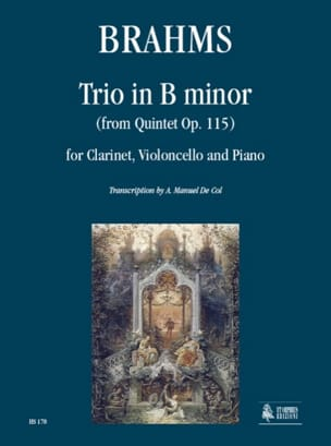 BRAHMS - Trio in Si Minor from the Op. 115 Quintet - Sheet Music - di-arezzo.com