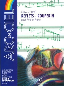 Gilles Carré - Reflets - Couperin - Partition - di-arezzo.fr