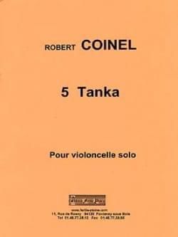 5 Tanka Robert Coinel Partition Violoncelle - laflutedepan