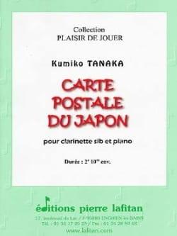 Carte Postale du Japon - Clarinette et piano laflutedepan