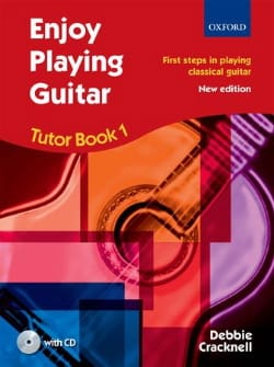 Debbie Cracknell - Enjoy Playing Guitar - Tutor Book 1 - Partition - di-arezzo.fr