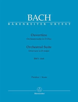 BACH - Orchestral Suite Ouverture BWV 1068 - Partition - di-arezzo.fr