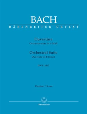 BACH - Orchestral Suite Opening BWV 1067 - Sheet Music - di-arezzo.com