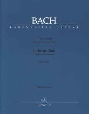 BACH - Orchestral Suite Ouverture BWV 1066 - Partition - di-arezzo.fr