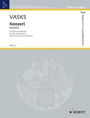 Concerto Pour Flûte et Orchestre - Peteris Vasks - laflutedepan.com