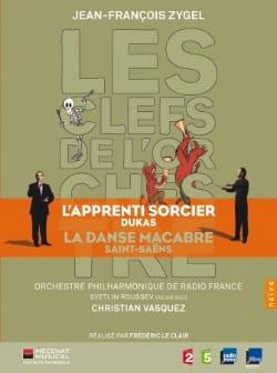 Jean-François Zygel - The Keys of the Orchestra: Dukas / Saint-Saëns - Sheet Music - di-arezzo.com