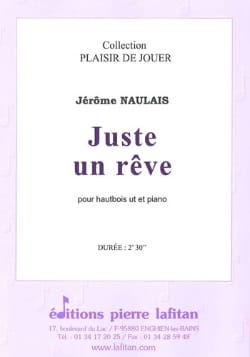 Juste un Rêve - Hautbois et Piano Jérôme Naulais laflutedepan