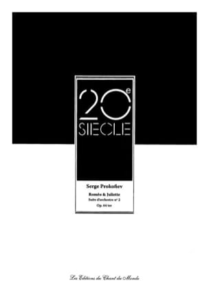 Serge Prokofiev - Romeo and Juliet - Orchestra Suite N ° 2 Opus 64ter - Sheet Music - di-arezzo.co.uk
