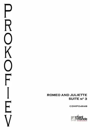 Serge Prokofiev - Romeo and Juliet - Orchestra Suite N ° 3 Opus 101 - Sheet Music - di-arezzo.co.uk