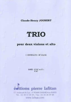 Claude-Henry Joubert - Trio 2 Violons et Alto - Partition - di-arezzo.fr