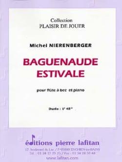 Baguenaude Estivale Michel Nierenberger Partition laflutedepan