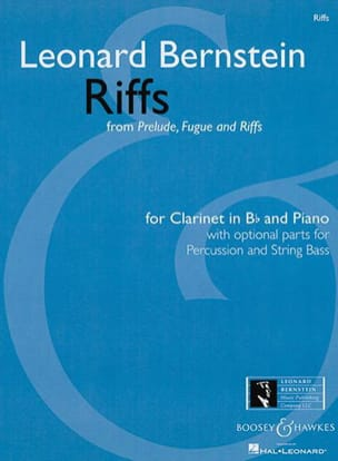 Leonard Bernstein - Riffs von Präludium, Fuge und Riffs 1949 - Noten - di-arezzo.de