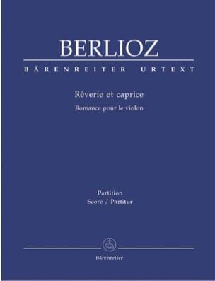 BERLIOZ - Rêverie et Caprice - Partition - di-arezzo.fr