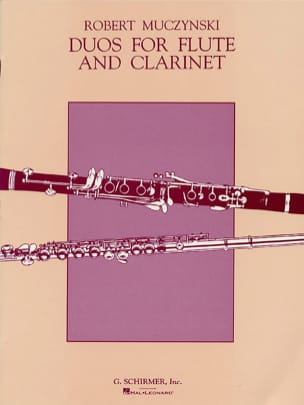 Robert Muczynski - Duos for Flute and Clarinet, Op. 24 - Partition - di-arezzo.fr