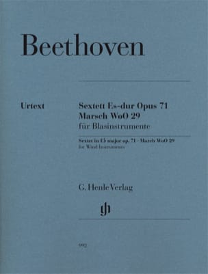 BEETHOVEN - Sextuor op. 71 and Marche WoO 29 - Sheet Music - di-arezzo.com