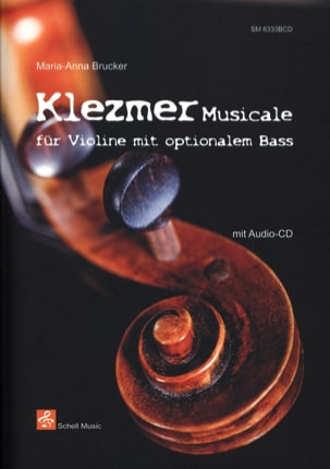 Maria-Anna Brucker - Klezmer Musicale - Partition - di-arezzo.fr